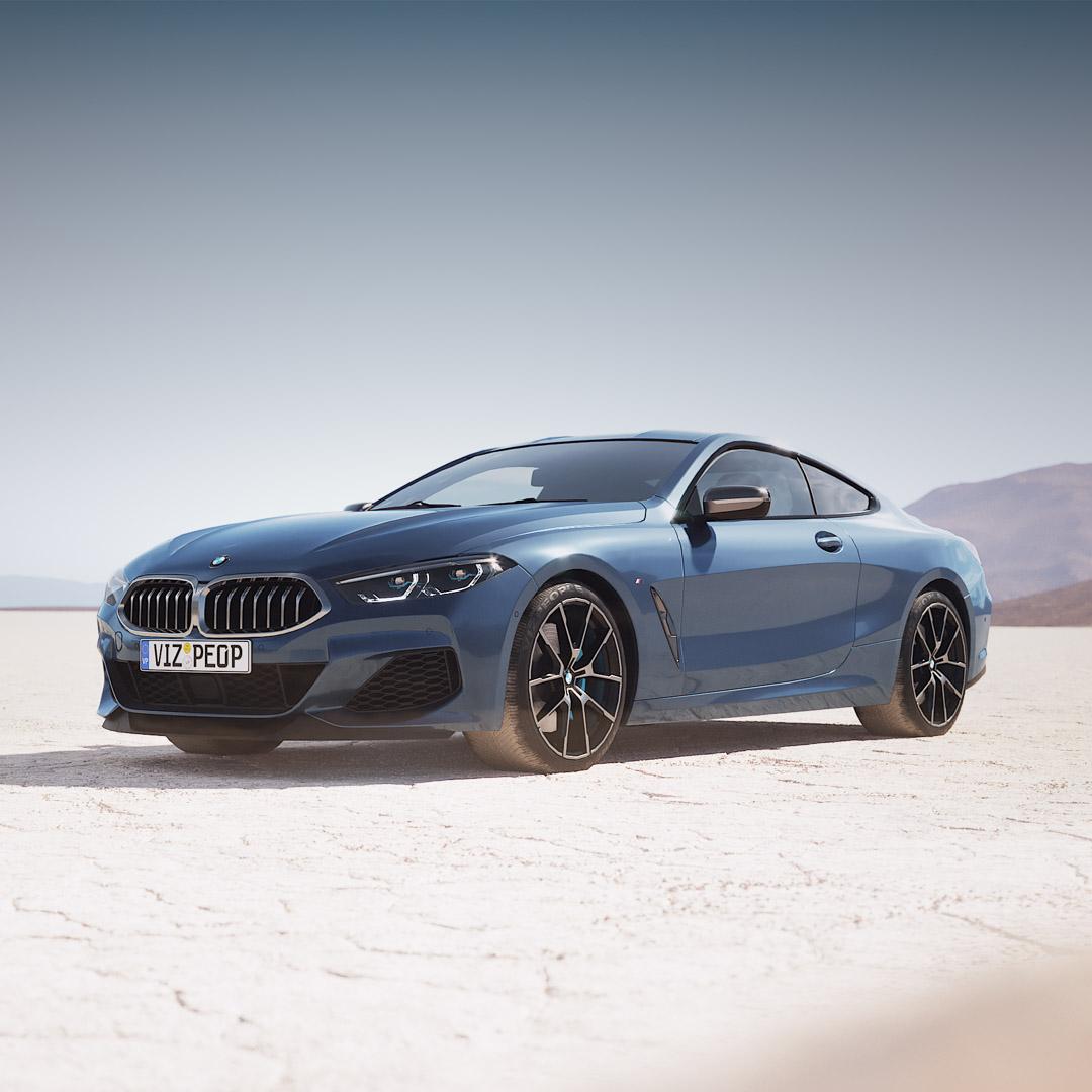 BMW 8 free 3d model