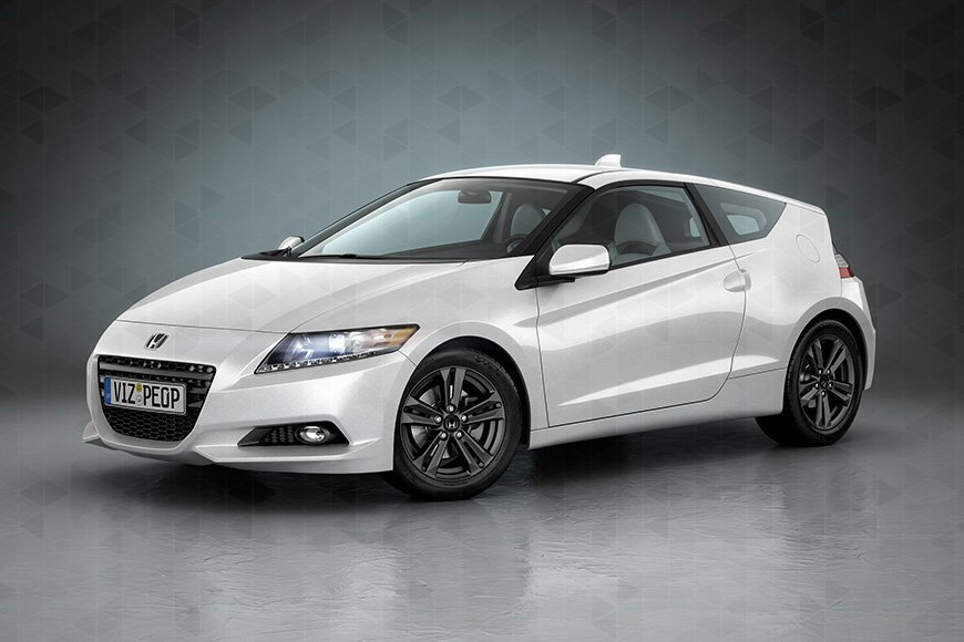 Free 3d model - Honda CR-Z - Viz-People