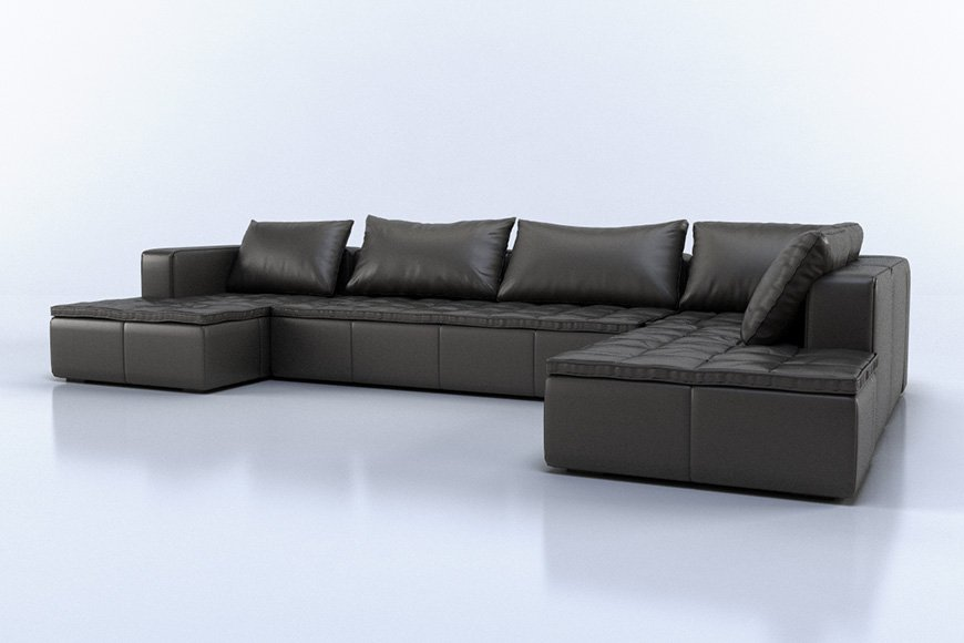Free 3d models sofas viz people for Sofa 3d model