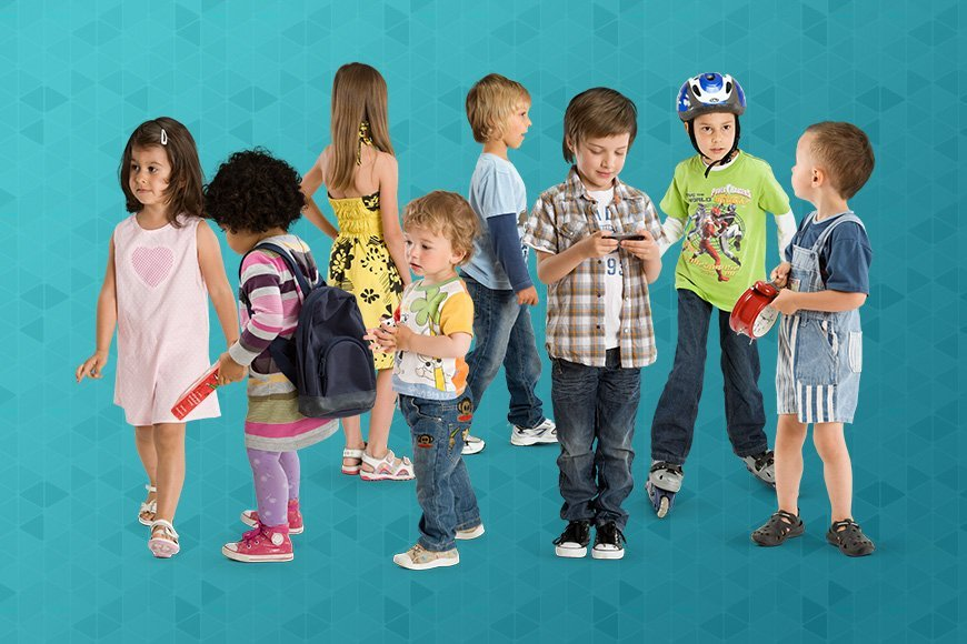 free cut out kids - Free Kids Pictures