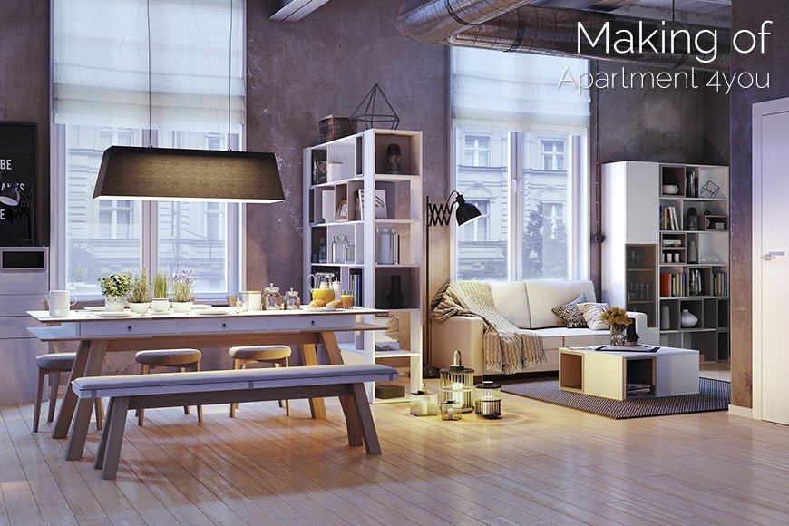 Making of Apartment 4you