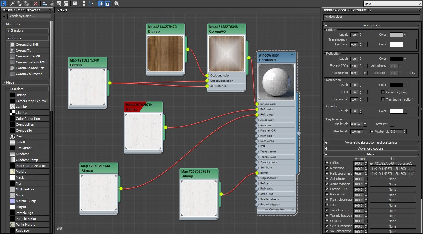 3ds Max Material Converter