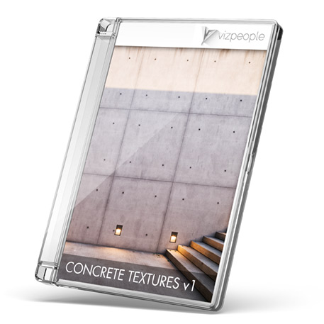Concrete textures box cover